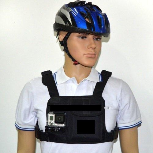 Крепление для экшн камеры на грудь с карманами