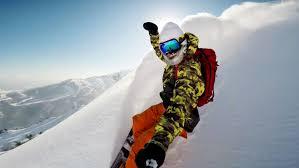 Сноуборд- крепление Gopro