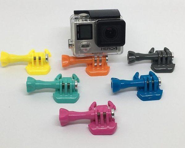 Защелка быстроразъемная, цветная для GoPro