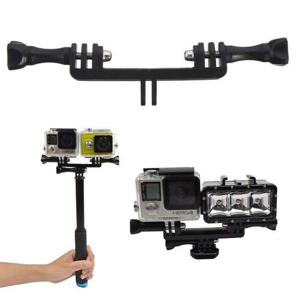 крепление для двух камер gopro